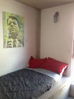 Downtown Furnished Sublet, Across Concordia Uni, july & august