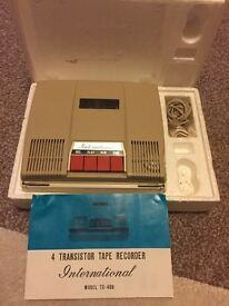 Vintage cassette recorder for sale