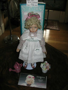 ..Mary, Mary, Quite Contrary...Porcelain Doll....