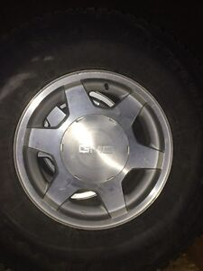 4 gmc rims and tires