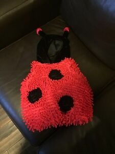 Lady Bug Costume 12 months