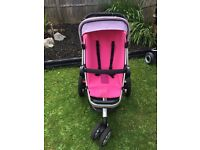 Quinny Buzz Limited Edition Roller Pink Pram