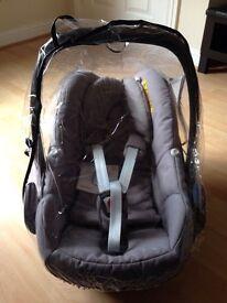 Maxi Cosi Pebble car seat VGC