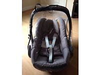 Maxi Cosi Pebble car seat VGC