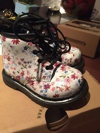 Floral Girls Doc Martins