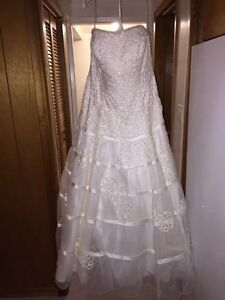 Strapless Plus-Size Wedding Dress - New with Tags