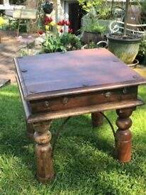 Mexican coffee table