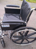 Wheelchair - Barely used