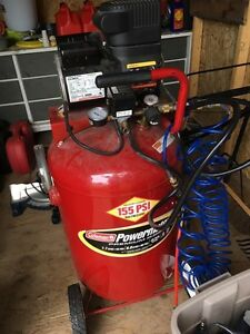 Coleman 27 gallon compressor