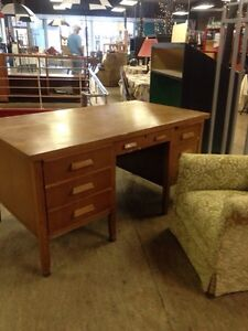 Antique Solid Oak Desks
