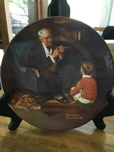 VINTAGE 1982 KNOWLES NORMAN ROCKWELL HERITAGE COLLECTION