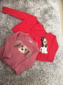 3 girls jumpers age 4 from gap/ next