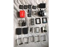 GoPro hero 4 black bundle