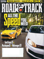 Road & Track and similar magazines