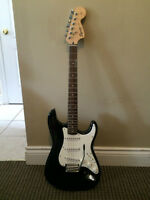Squier Affinity Series Stratocaster Electric Guitar - Black