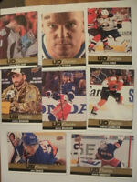 2013-14 Upper Deck canvas hockey cards