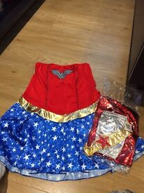 Wonder Woman Fancy Dress Complete Outfit