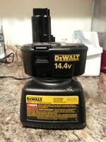 14.4 volt Dewalt Battery and Charger