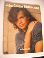 "John :Cougar"" Mellencamp Booklet by Robus Books 1985"