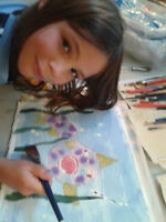 Art classes for children & youth - Splash! Wet wild watercolour!