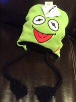 Disney The Muppets Frog Puppets Reversible Hat