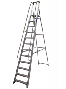 Ladders For Sale >> Aluminium Builders Step Ladders 12 Treads Class 1 Cert For Sale