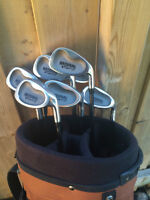 IRON SETS 4-SW Natural Golf- Bag Included - Beginners Set