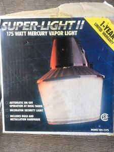 Sentinelle  / Super-light II  175 watt au mercure