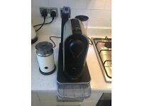 Nespresso Krups Coffee Maker with Milk Whisker and Pod tray