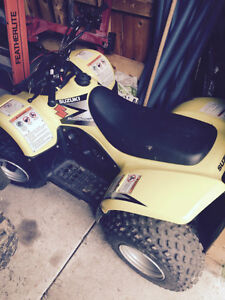 Used 2005 Suzuki quadsport