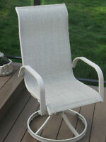 """""""W A N T E D""""  Sling Patio Chairs"""