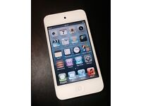 White 32GB Apple iPod Touch 4th Generation Fully Working Good Condition Can Deliver