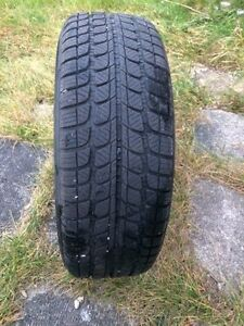 4 winter tires on rims. West Island Greater Montréal image 3