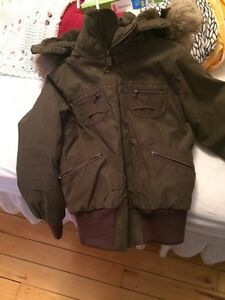TNA winter coat size small
