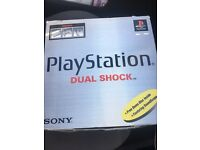 Play station 1 boxed ps1 sony