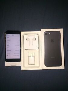 iPhone 7 Black 128GB Brand New Rogers