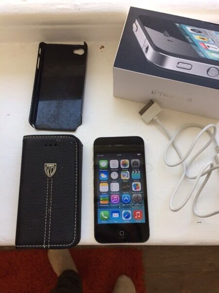 iPhone 4 16gbin Plymouth, DevonGumtree - iPhone 4 16gb EE network. iPhone is in fully working order. Screen few scratches and has a slight crack on the top corner (doesnt affect usage and visibility). Back of the iPhone is in good condition. iPhone comes with original box and USB charging...