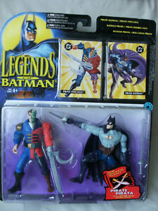 1995 LEGENDS OF BATMAN: PIRATE BATMAN & PIRATE TWO-FACE