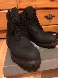All Black Timberland Boots