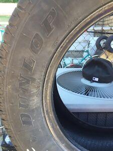 Four Dunlop all season tires  Kitchener / Waterloo Kitchener Area image 2