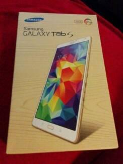 SAMSUNG GALAXY Tab S 8.4 4G LTE WIFI White 16GB SM-705Y Phone New Auburn Auburn Area Preview