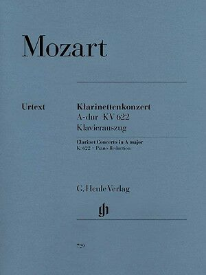 - Mozart Clarinet Concerto in A Major K. 622 Sheet Music for Clarinet in 051480729