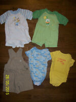The Children's Place Boys Summer Clothing, Size 12 months