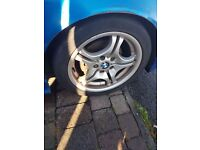 "17"" Genuine BMW Style 68 wheels with tyres"