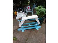 Vintage Gilder Type Rocking Horse
