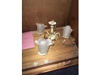 Antique brass sealing light
