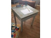 Vintage children's desk with storage