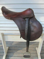 17 inch English saddle made in Argentia $99
