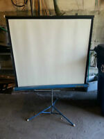 Vintage Da-Lite Flyer Projection / Slide Screen