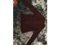 Men's XL black Teddy Smith long sleeved jumper